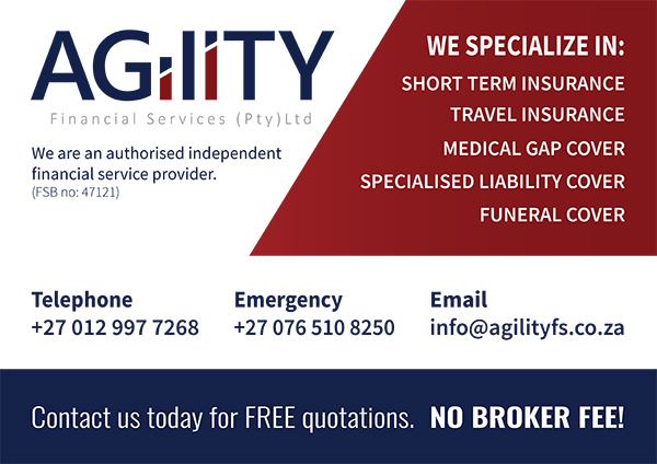 Agility Financial Services Car Magnet