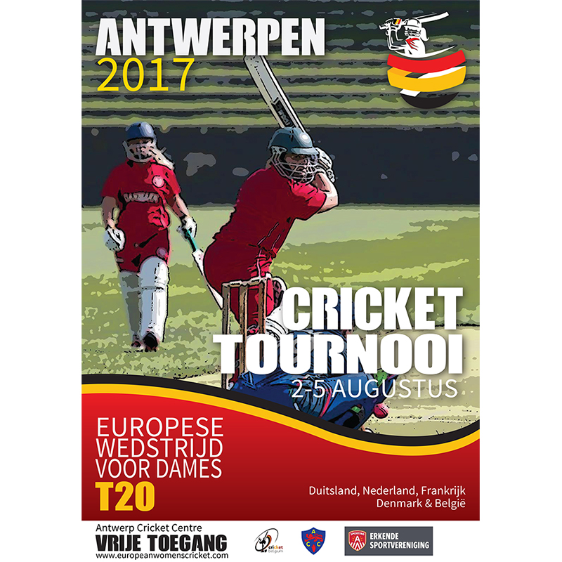 Belgium Cricket Flyer