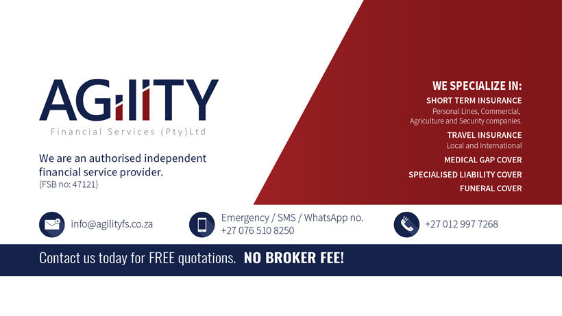 Agility Financial Services Facebook Banner